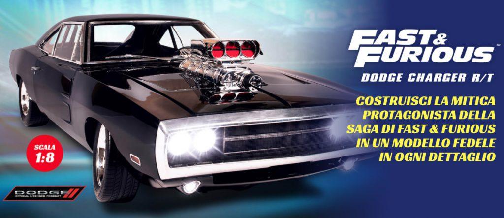 Dodge Charger RT: il modellino di Fast and Furious è in edicola – DeAgostini
